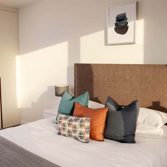 Fernbank Apartments Churchtown Dublin Furnished Bedroom