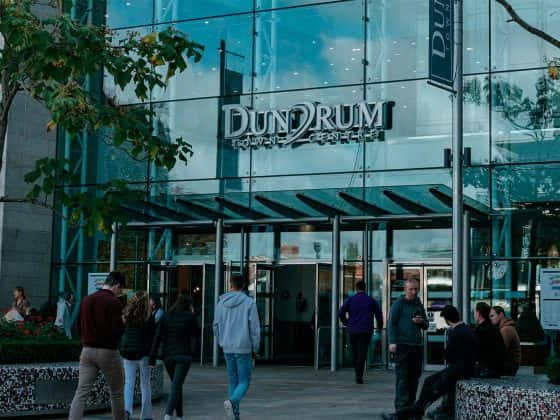 entrance to dundrum town centre