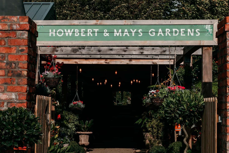 howbert & mays gardens entrance